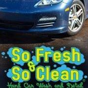 So Fresh & So Clean Hand Car Wash