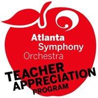Atlanta Symphony-Teacher Appreciation Program