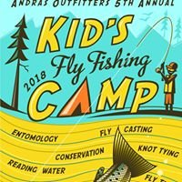 Kid's Fly Fishing Summer Camp - Ashland Oregon