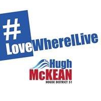Hugh McKean, Colorado House of Representatives - House District 51