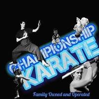 Championship Karate Cartersville