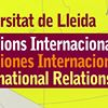 Relacions Internacionals UdL