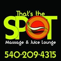 That's The SPOT Mobile Massage