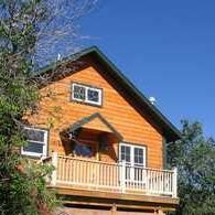 Cabin-style house for sale in Manitou Springs.