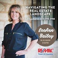 LeeAnn Bailey - Fredericksburg's Home & Land Agent