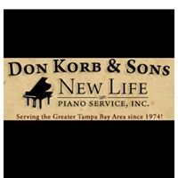 Piano Tuning - Don Korb & Sons New Life Piano Services, Inc.