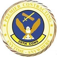 28th Contracting Squadron, Ellsworth AFB. South Dakota