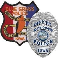 Blue Grass, Iowa Police Department