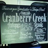 Cranberry Creek Antiques and Resale