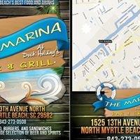 The Marina Bar and Grill at Dock Holidays
