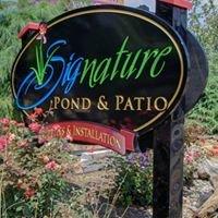 Signature Pond & Patio