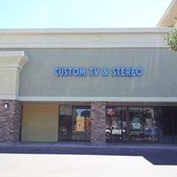 Custom TV and Stereo