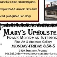 Getwelll Antique  Mall  And Mary's Upholstery . Frank Moorman Interiors