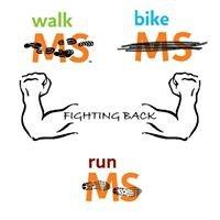 "Walk/Bike/Run MS Team ""Fighting Back"""