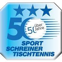 Sport Schreiner Tischtennis