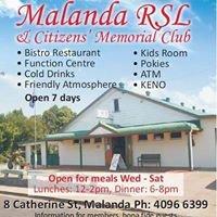 Malanda RSL