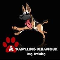 A'paw'lling Behaviour Dog Training