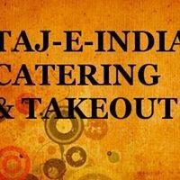 Taj-E-India Catering & Takout