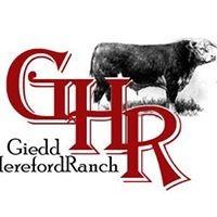 Giedd Hereford Ranch