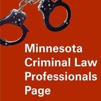 Minnesota Criminal Law Professional's Page