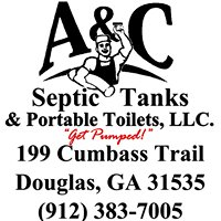 A&C Septic Tanks & Portable Toilets 912-383-7005