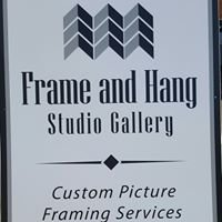 Frame and Hang Studio Gallery