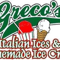 Greco's Italian Ices and Homemade Ice Cream