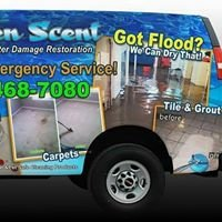 Heaven Scent Water Restoration Carpet Upholstery Cleaning, Tile Floor Shine