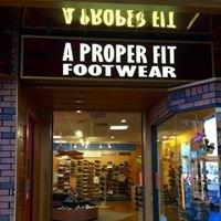 A Proper Fit Footwear
