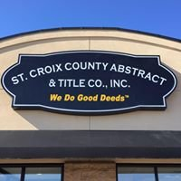 St. Croix County Abstract & Title Co., Inc.
