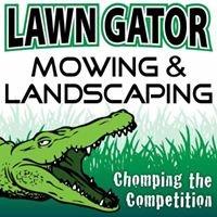Lawn Gator Mowing