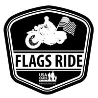 Flags Ride For USA Cares