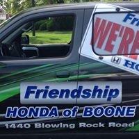 Friendship Honda of Boone