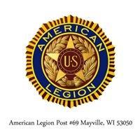 Mayville American Legion Post #69 Mayville, WI