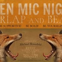 Burlap and Bean Wednesday Night Open Mic