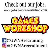Games Workshop Recruitment - North America