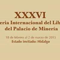 Feria internacional del libro palacio. De mineria mexico df