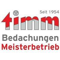 Timm Bedachungen Inh. Uwe Rohr e.K.