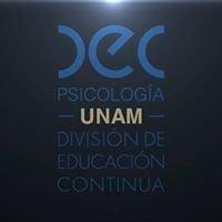 División de Educación Continua Psicología, UNAM