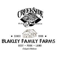 Creekside Plants & Produce and Blakley Family Farms Meat