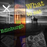 What to eat in Edinburgh