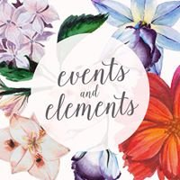 Events and Elements