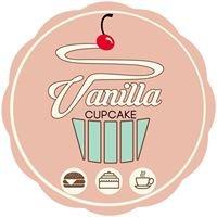 Vanilla Cupcake Bakery House