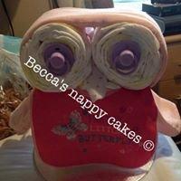 Becca's nappy cakes