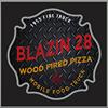 Blazin 28 pizza