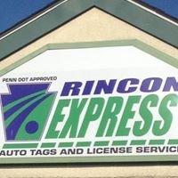 Rincon Express - PA Tags & Title