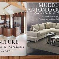 Muebles Antonio Guillén y carpinteria en general