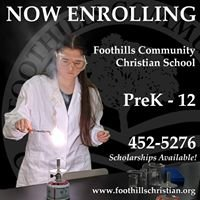 Foothills Community Christian School
