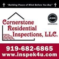 Cornerstone Residential Inspections, LLC