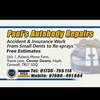 Pauls Autobody Repairs